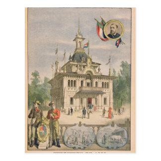 Der Transvaal-Pavillon an dem universellen Postkarte