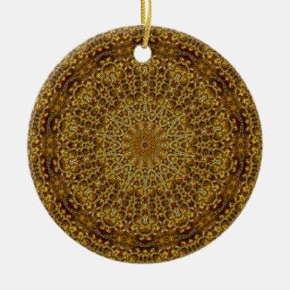 Der Traum 2 des Goldschmieds Rundes Keramik Ornament