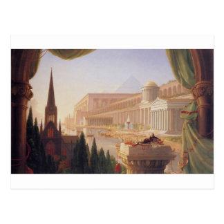 Der Traum des Architekten durch ThomasCole Postkarte