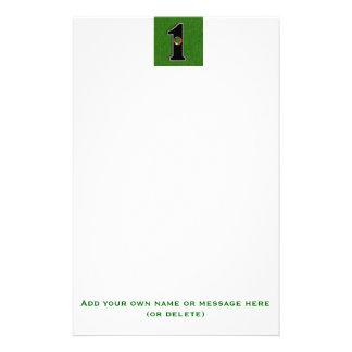 Der Traum des Golfspielers - Loch in einem! Briefpapier