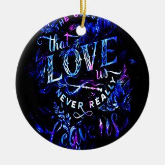 Der Traum des Liebhabers die diese Liebe wir Keramik Ornament