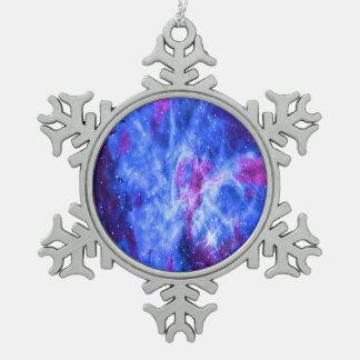 Der Traum des Liebhabers Schneeflocken Zinn-Ornament