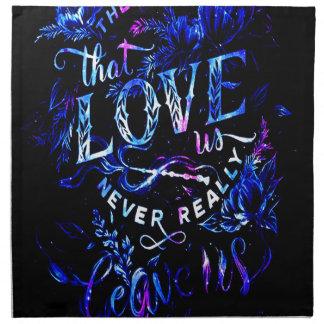 Der Traum des Liebhabers von den diese Liebe wir Serviette