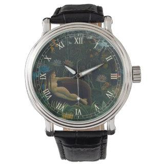 Der Traum durch Henri Rousseau, Vintager Armbanduhr