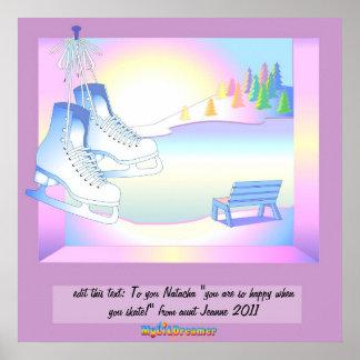 Der Traum eines Skaters Posterdruck