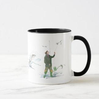 Der Traum und die Wirklichkeits-Fischen-Tasse Tasse