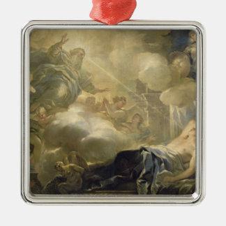 Der Traum von Solomon, c.1693 (Öl auf Leinwand) Weinachtsornamente
