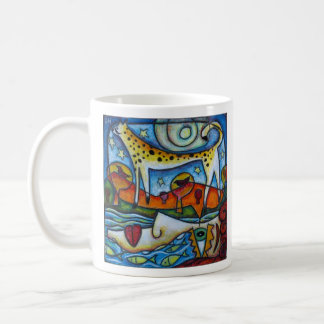 Der träumende Fluss Kaffeetasse