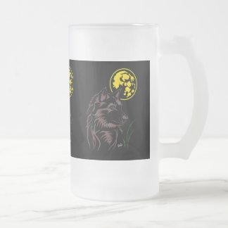 Der träumende junge Wolf Tasse