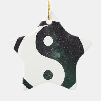 """""""Der Träumer-"""" Stern-Galaxie-Druck-Produkte Keramik Ornament"""