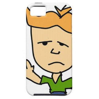 Der traurige Junge iPhone 5 Hüllen