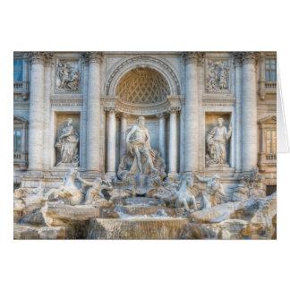 Der Trevi-Brunnen (Italiener: Fontana di Trevi) 5 Karte
