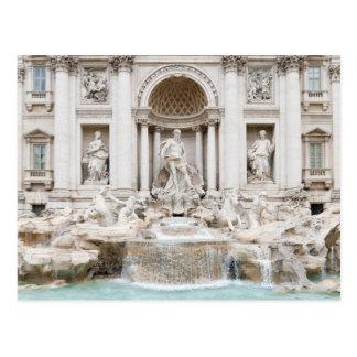 Der Trevi-Brunnen (Italiener: Fontana di Trevi) Postkarte