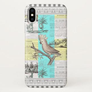 Der tropische Traum des Cockatoos iPhone X Hülle