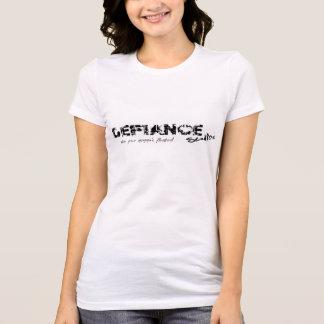 Der Trotz-Studio-Logo-T-Stück der Frauen T-Shirt