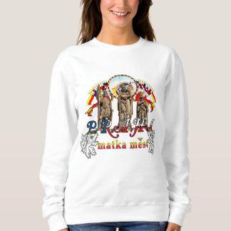 Der Tschechische Republik-Frauen Prags das Sweatshirt