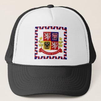 Der Tschechische Republik-Präsident Flag Truckerkappe