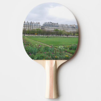 Der Tuileries Garten, Paris Frankreich Tischtennis Schläger