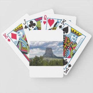 Der Turm des Teufels Bicycle Spielkarten