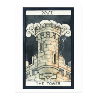 Der Turm Postkarte