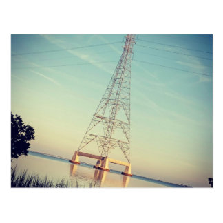 DER TURM: Power u. Natur Postkarte