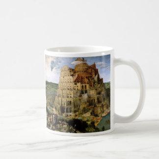 Der Turm von Babel Kaffeetasse