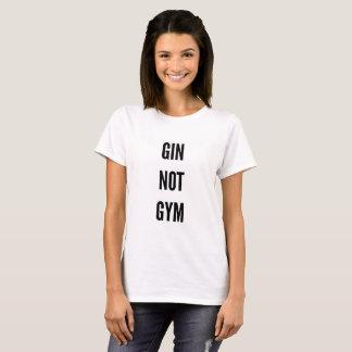 Der Turnhallenübungs-Fitness des Gins nicht T-Shirt