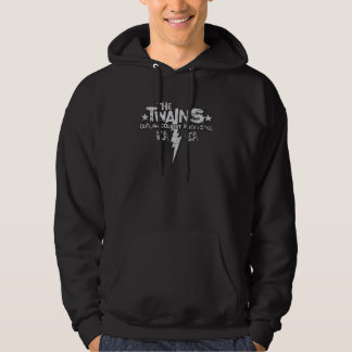 Der Twains Bolzen-Logo-Kapuzenpulli! Kapuzensweater