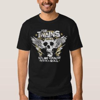 Der TWAINS Schädel n Hufeisen-T - Shirt! T Shirt
