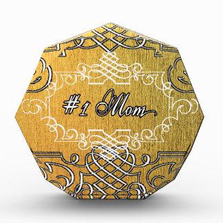 der Typografie-Mutter der Mammas #1 der goldene Auszeichnung