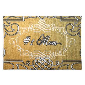 der Typografie-Mutter der Mammas #1 der goldene Tischset