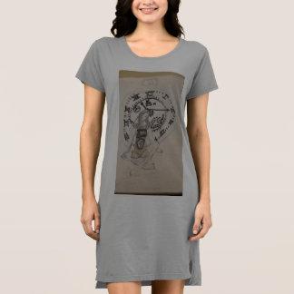 Der Uhrwerk Künstler Kleid
