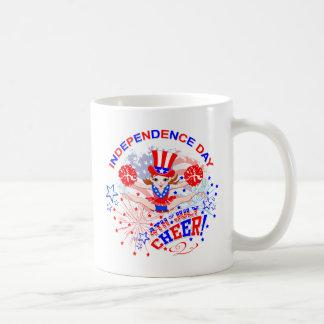 Der Unabhängigkeitstag der Cheerleader Kaffeetasse