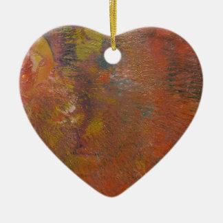 Der Unforming Stern Keramik Herz-Ornament