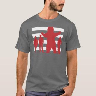 Der ungewöhnliche Verdächtige SANS-TEXT T-Shirt