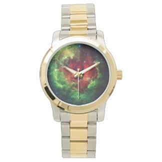 Der unicorns-Rosen-Rosette-Nebelfleck Uhr