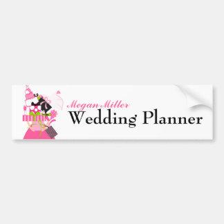 Der unmögliche Hochzeits-Stapel Autoaufkleber