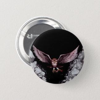 Der unsterbliche Vogel, Rowling Runder Button 5,7 Cm