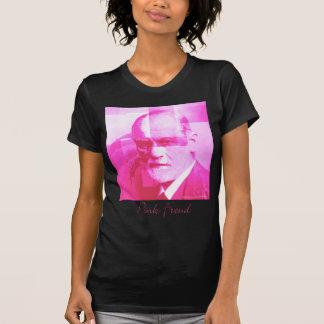Der ursprüngliche rosa Freud_Black T - Shirt
