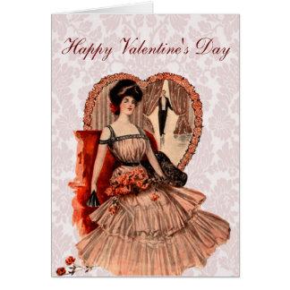 Der Valentinsgruß Edwardian Liebhabers Karte