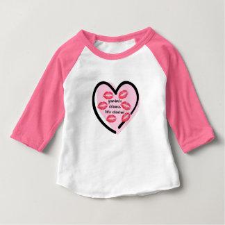 Der Valentinsgruß-Küsse der Großmutter Baby T-shirt