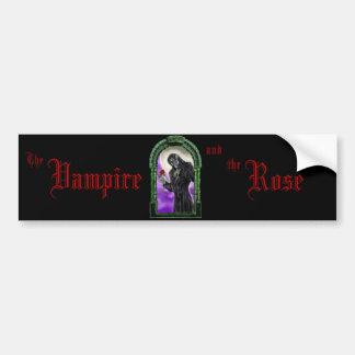 Der Vampire und die Rose Auto Sticker