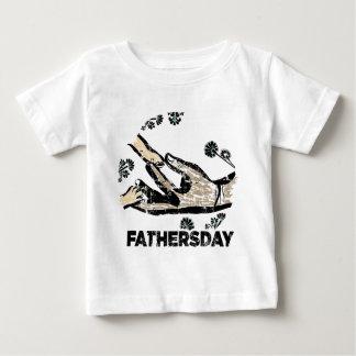 Der Vatertag Baby T-shirt