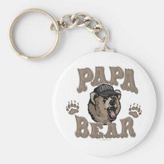 Der Vatertags-Gang Papa-Bärn- Schlüsselanhänger