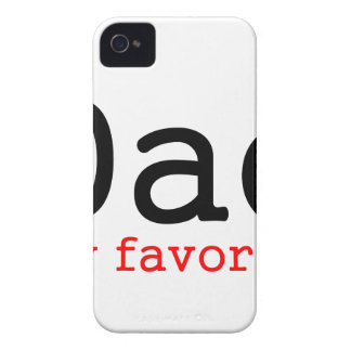 Der Vatertags-Geschenk - Vati mein Liebling iPhone 4 Case-Mate Hülle