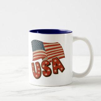 Der Vatertags-Geschenke für Männer Zweifarbige Tasse