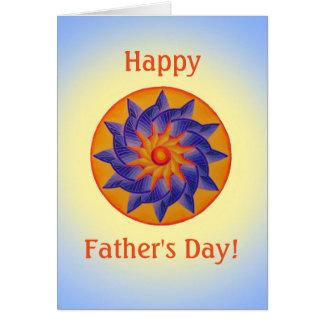 Der Vatertags-Karte Sonnenschein- Karte