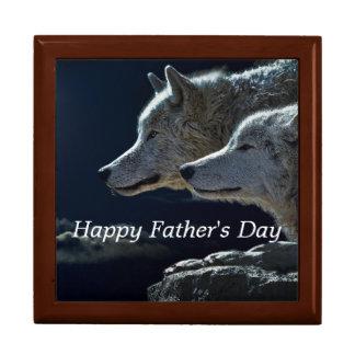 Der Vatertags-Wölfe Geschenkbox