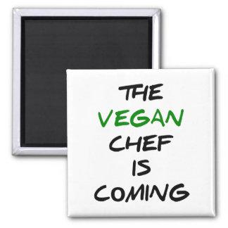 Der vegane Koch kommt Quadratischer Magnet