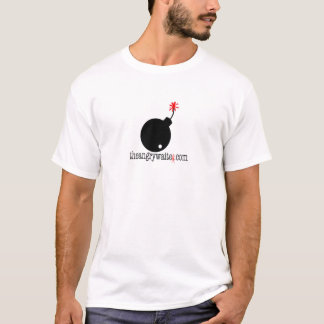 Der verärgerte Kellner-Bomben-T - Shirt